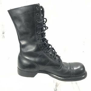 Corcoran Punk Jump Boots Military Paratrooper